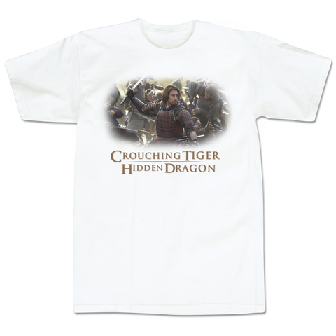 'Crouching Tiger' T-Shirt (White)