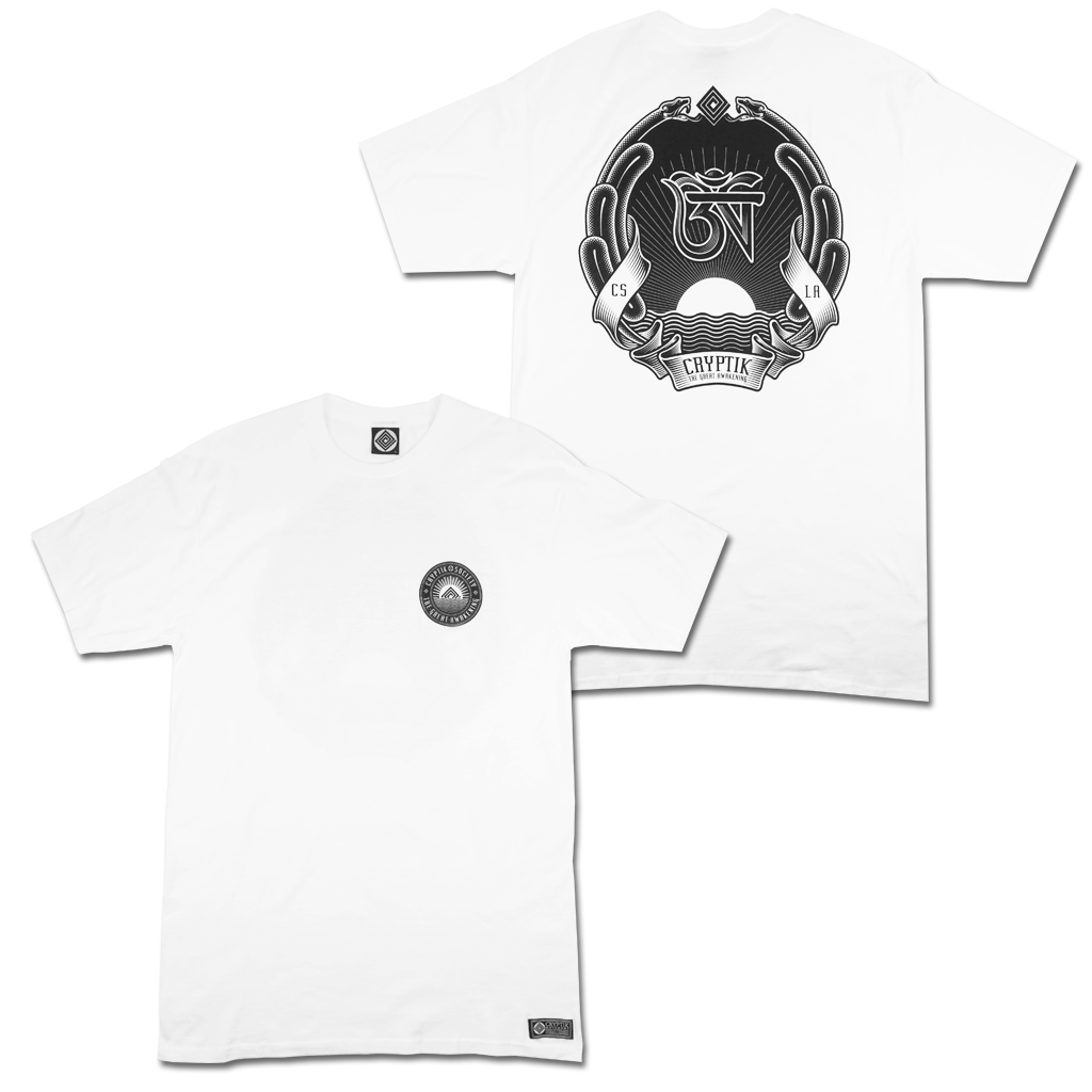 'Coat Of Arms' T-Shirt (White)