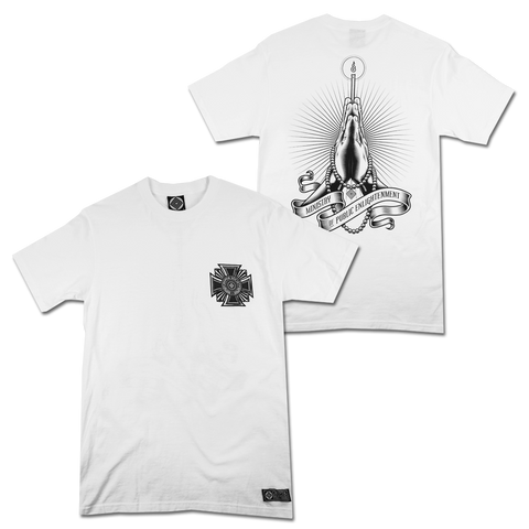 'Ministry Of Public Enlightenment' T-Shirt (White)