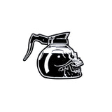 'Coffee Skull' Lapel (Pin)