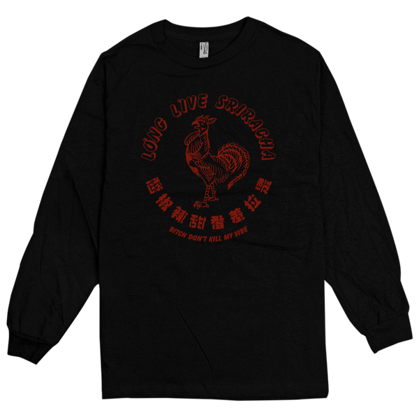 'CockBlocker' L/S T-Shirt (Black)