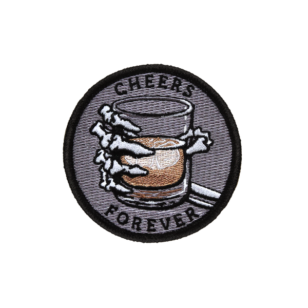 'Cheers Forever' Embroidered (Patch)