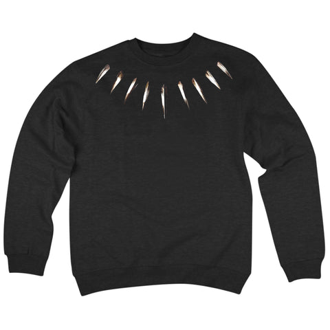 'Claws' Crewneck Sweatshirt (Black)