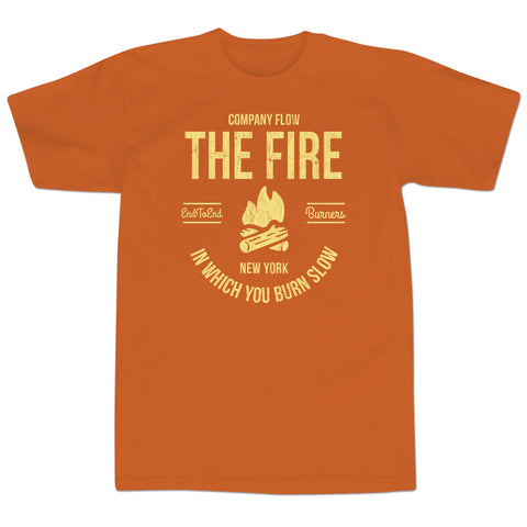 'Indelibles' T-Shirt (Burnt Orange)