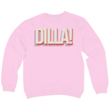 'Dill Withers' Crewneck Sweatshirt (Light Pink)