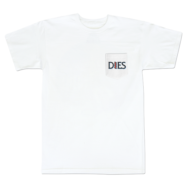 'St. Dies' Pocket T-Shirt (White)