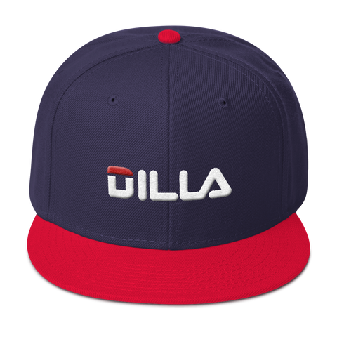 'DILA' Snap Back (Blue & Red)