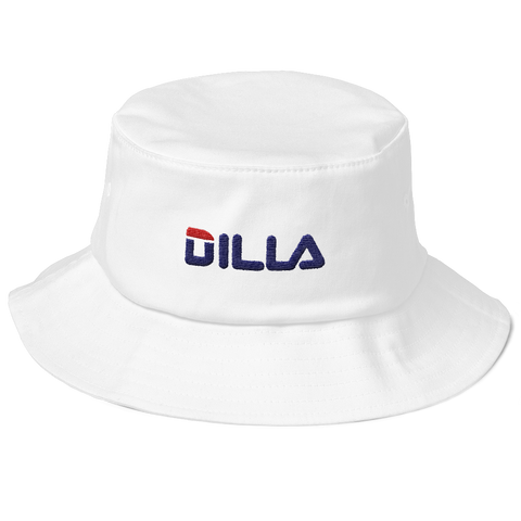 'DILA' White Bucket (Hat)