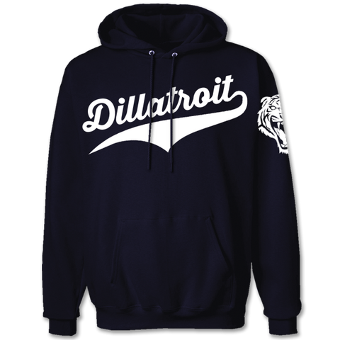 'Dillatroit Tigers' Hoodie (Navy Blue)
