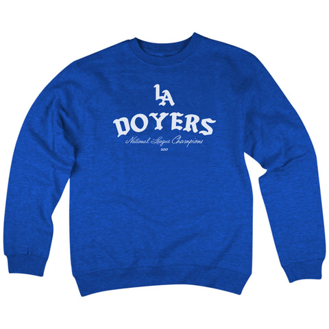 'Doyers' Crewneck Sweatshirt (Blue)