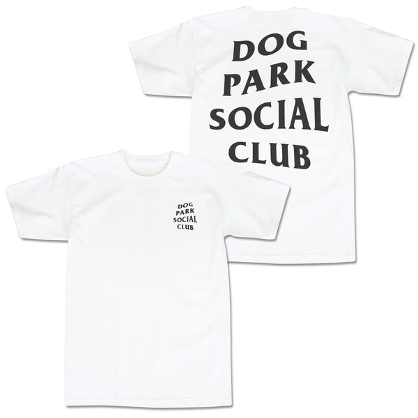 'Dog Park Club' T-Shirt (White)