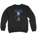 'NIN' Crew Neck Sweatshirt (Black)