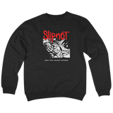 'SlipNot' Crew Neck Sweatshirt (Black)