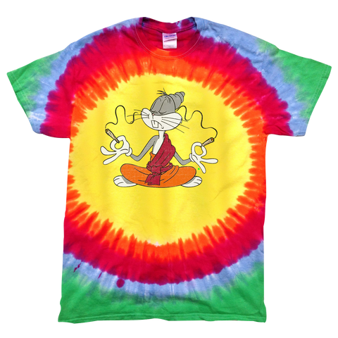 'Drugs Bunny' T-Shirt (Tie-Dye) *Namaste Edition*