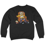 'Fat-Thor' Crew Neck Sweatshirt (Black)