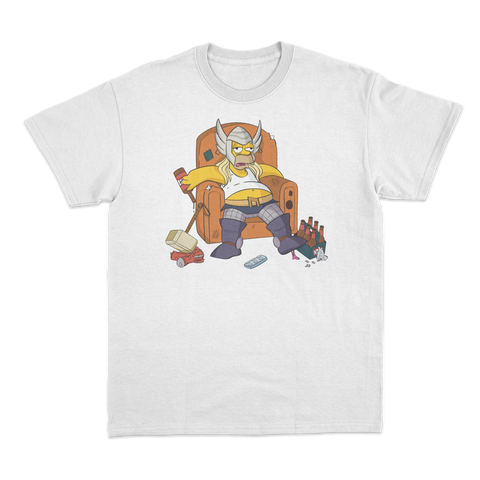'Fat-Thor' T-Shirt (White)