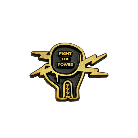 'Fight The Power' Lapel Pin