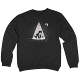 'Alley Cat' Crewneck Sweatshirt (Black)