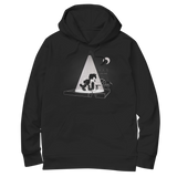 'Alley Cat' Hoodie (Black)
