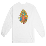 'Flanders of Guadalupe' Long Sleeve T-Shirt (White)