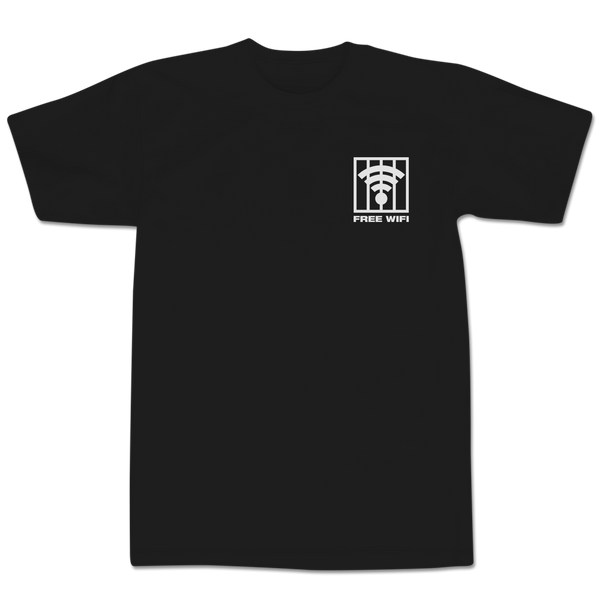 'Free Wi-Fi' T-Shirt (Black)