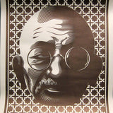 'Gandhi' Screenprint Signed, Numbered, (Edition of 25)