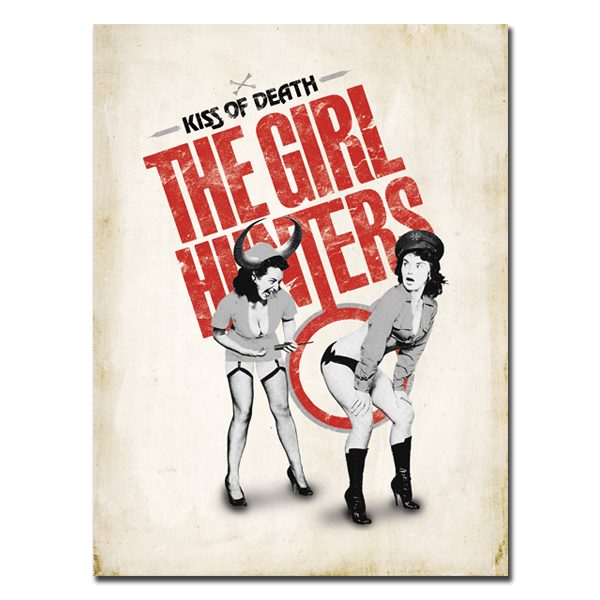 'Girl Hunters' Poster (18x24 & 24x36)