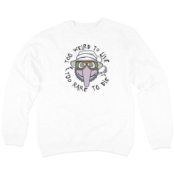 'Bat Country' Crewneck Sweatshirt (White)