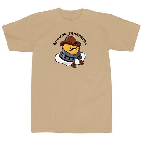 'Huevos Rancheros' T-Shirt (Tan)