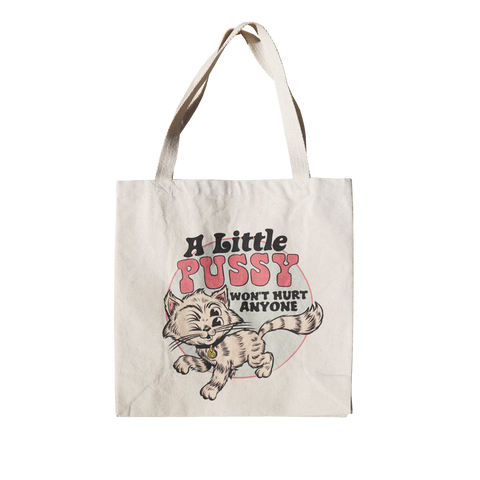 'Lil Pussy' Tote (Bag)