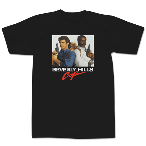 'Beverly Hills Cop' T-Shirt (Black)
