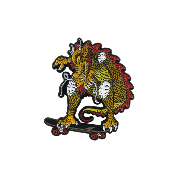 'Cab Dragon' Lapel (Pin)