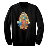 'Flanders of Guadalupe' Crewneck Sweatshirt (Black)