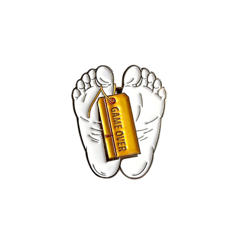 'Game Over' Lapel (Pin)