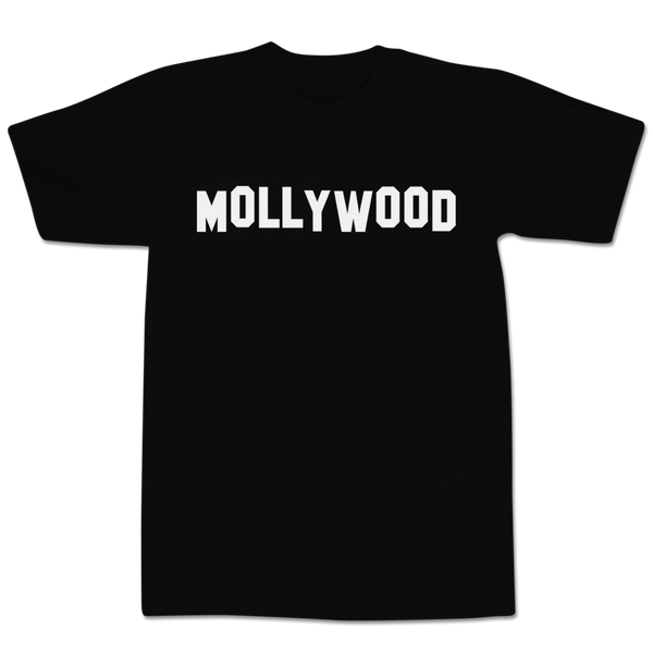 'Mollywood' T-Shirt (Black)