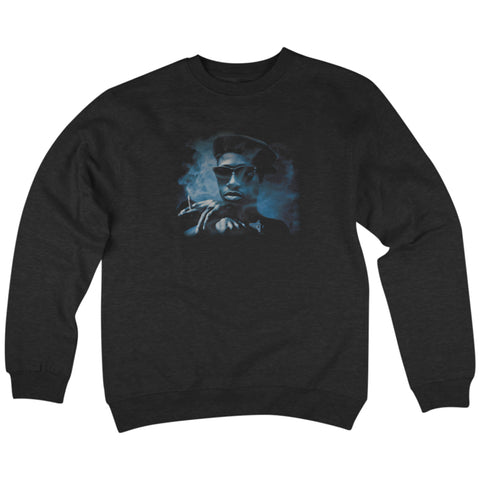 'Nino' Crewneck Sweatshirt (Black)