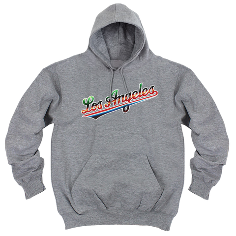 'Los Angeles' Hoodie (Heather Grey)