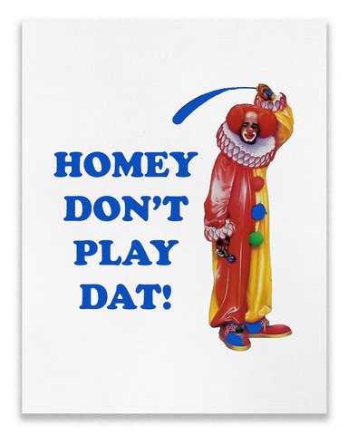 'Homey The Clown' Poster (8x10)