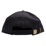'Essentials Unstructured' StrapBack Hat (Black)