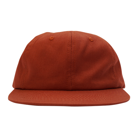 'Essentials Unstructured' StrapBack Hat (Burnt Orange)