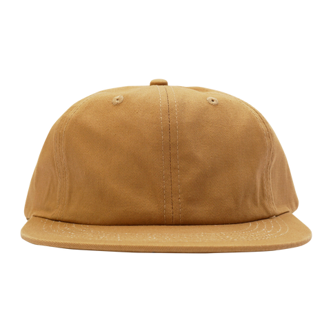 'Essentials Unstructured' StrapBack Hat (Tan)