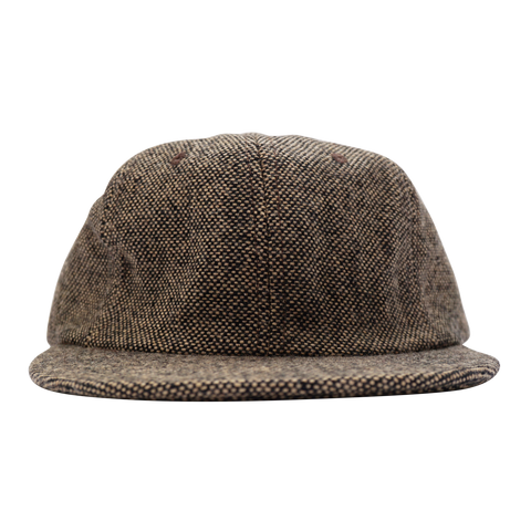 'Essentials Unstructured' StrapBack Hat (Herringbone)