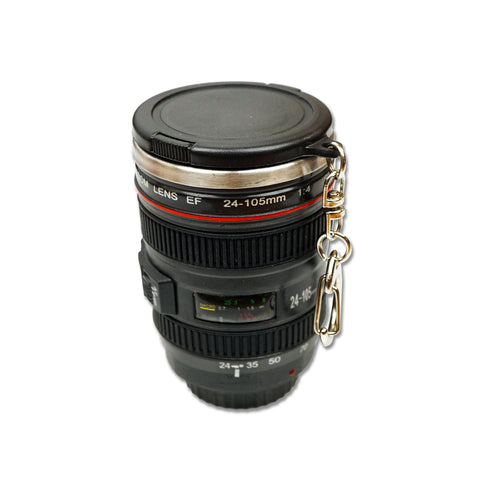 'SLR Camera Lens' Keychain Mini Mug