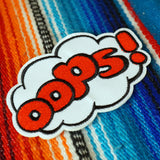 'Oops!' Embroidered (Patch)