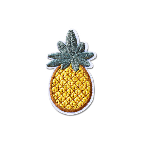 'Pineapple' Embroidered (Patch)