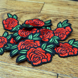 'Rose' Embroidered (Patch)