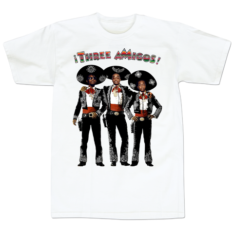 'Three aMigos' T-Shirt (White)