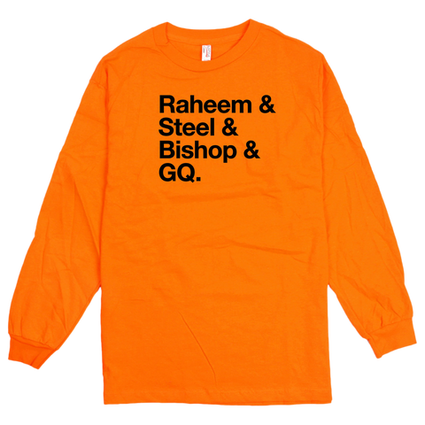 'Juice Crew' L/S T-Shirt (Orange)