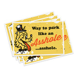 'Asshole' Cards (20 Pack)