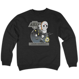 'Jason Hockey' Crew Neck Sweatshirt (Black)